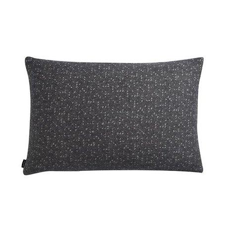 OYOY Sierkussen Tenji grijs wit wol 40x60cm