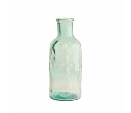 HK-living Vaas bloemen medium glas 9,5x9,5x23cm