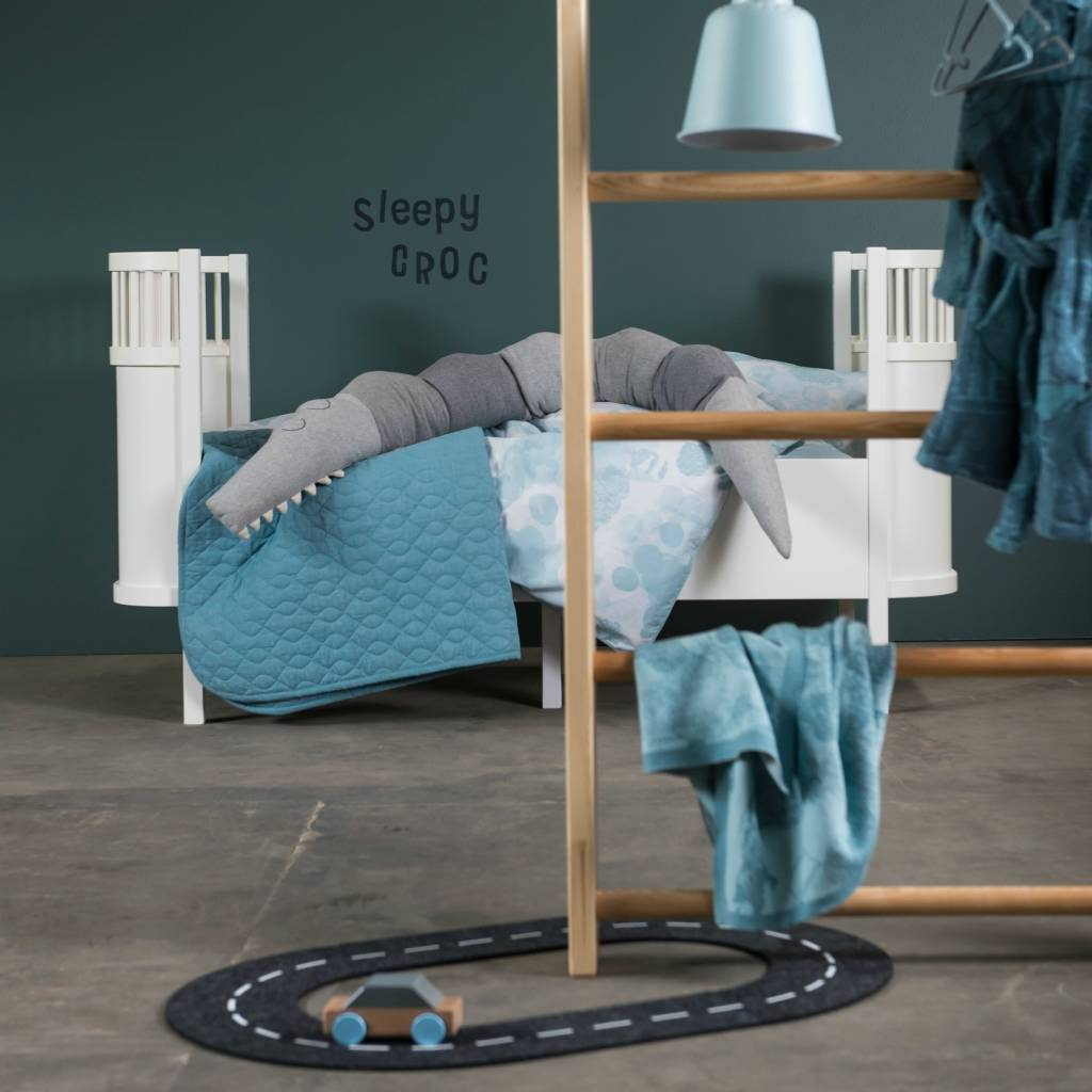 Peuterbed Wit Hout.Babybed Wit Hout 112 5x70x88cm Lefliving Be
