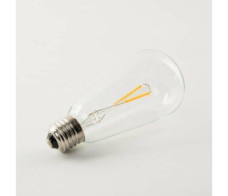 Zuiver Lampenbol Bulb Drop LED 6,8x6,8x14,5cm