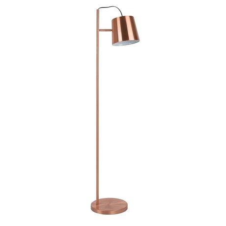 Zuiver Vloerlamp Buckle head copper, metaal koper 150cm