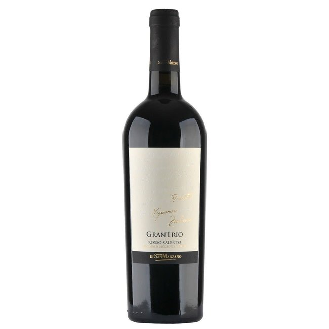 "San Marzano IGP Salento Rosso""Gran Trio"" Rosso 2020"