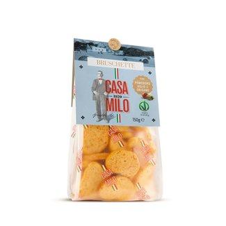 Gusto Bruschetta Pomodori Aglio Casa Milo 150 gr