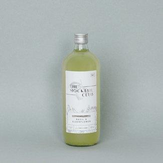 Mocktail Basil & Elderflower 1L