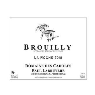 Domaine des Cadoles AOP Brouilly La Roche 2019