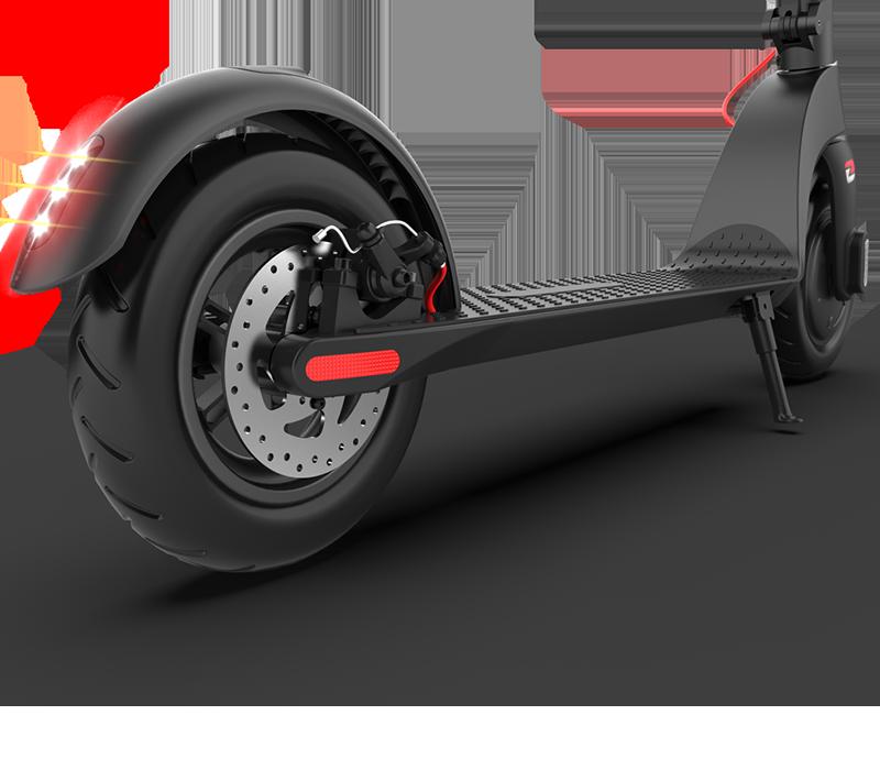 Meervoudig remsysteem om veilig en zorgeloos te kunnen rijden