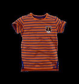 Z8 kids Bryce - cognac/brilliant blue/stripes