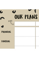 Oh My Goody Planner A4 - our plans this week