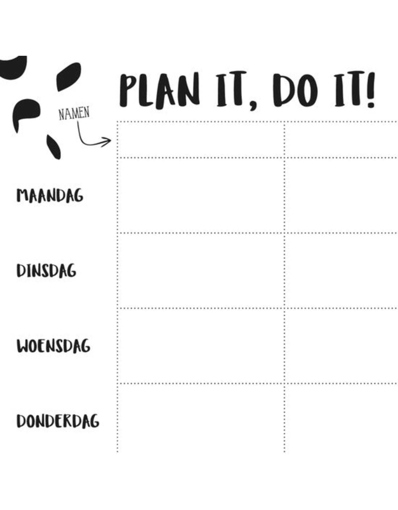 Oh My Goody Planner A4 - plan it. do it (weekplanner)
