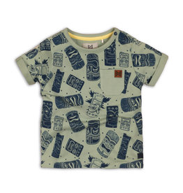 Koko Noko T-SHIRT - GROEN ALL OVER PRINT