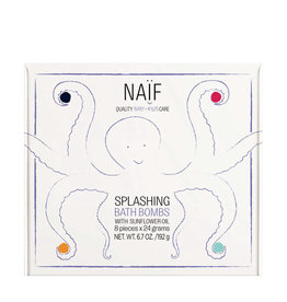 Naïf Splashing bath bombs