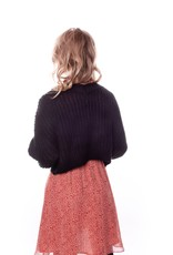 Colourful Rebel Aurora cropped cable cardigan
