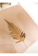 In My Dreams Design Tegeltje roze/goud blad 1