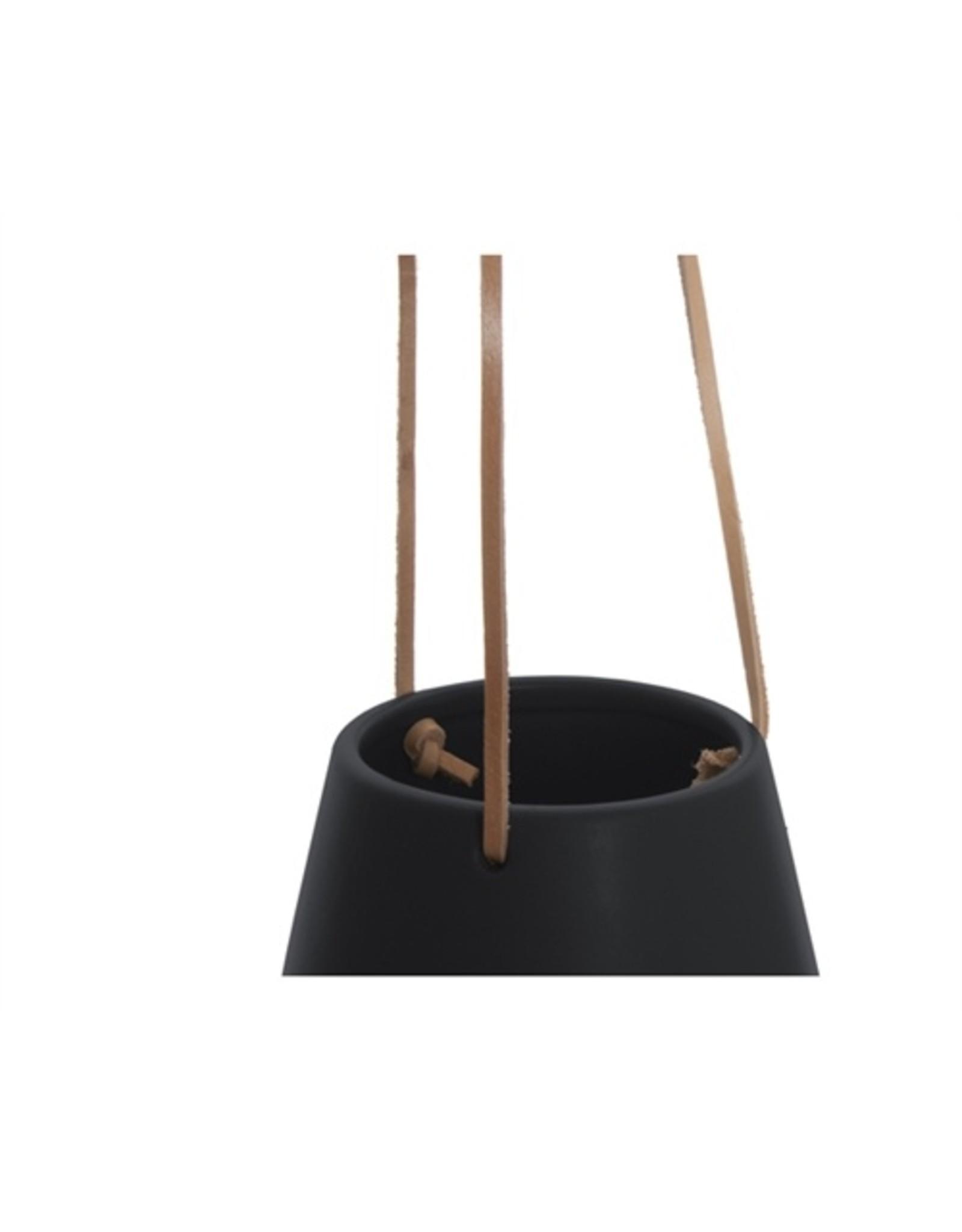 Present Time Hangpot Skittle matt black S