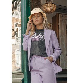 Colourful Rebel Demi tapered pants women lilac
