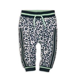 Dirkje Broekje leopard - wit/blauw