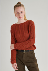 24colours Pullover roest