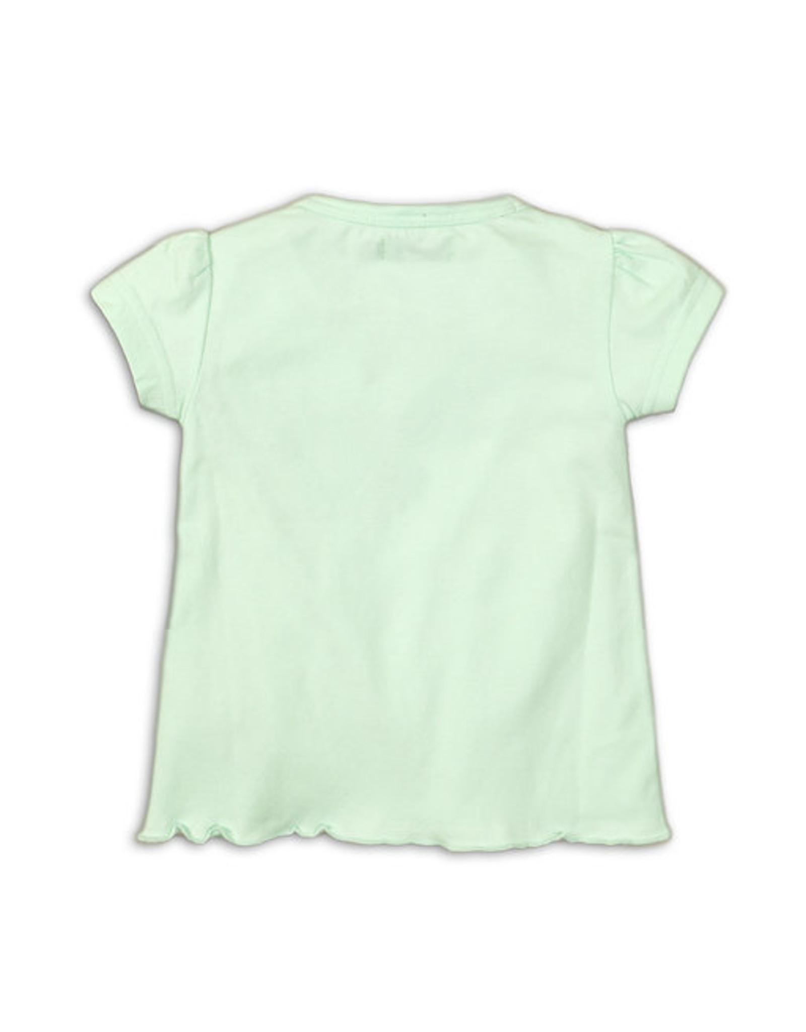 Dirkje T-shirt tigers - mint - 35C-34321