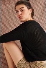 24colours Pullover black