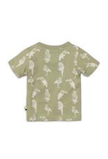Dirkje T-shirt toucan do it - legergroen - 35C-34581