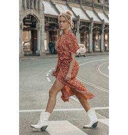 Colourful Rebel Maxi blazer dress - very flower -