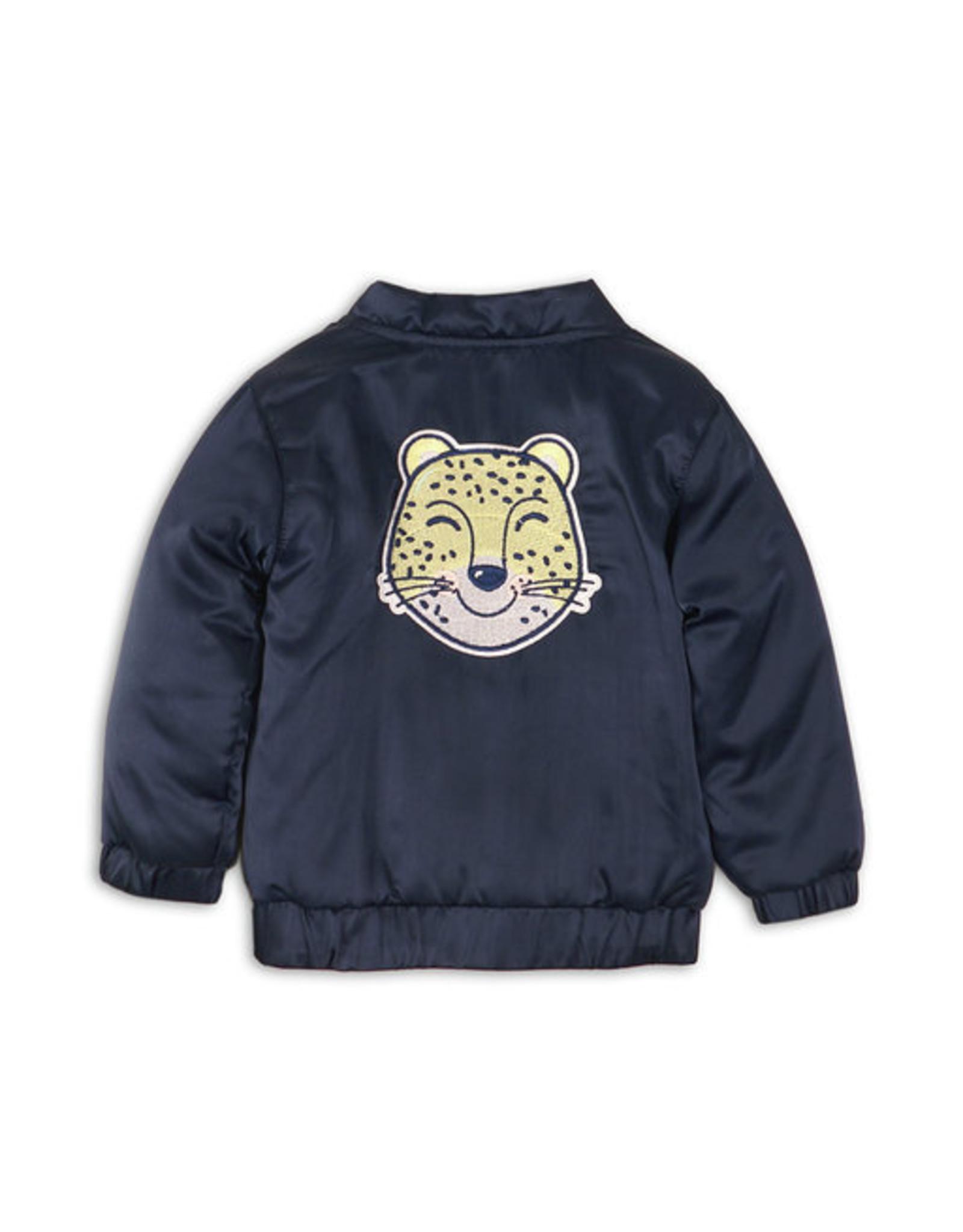 Dirkje Reversible jasje - donkerblauw