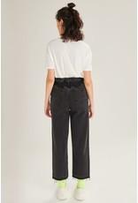 24colours Jeans paperbag zwart - 80239