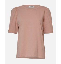 Moss Copenhagen - MSCH T-shirt - Mo Alva Puff Tee - Roze