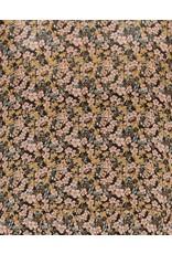 Moss Copenhagen - MSCH Jurk - Martha Rikkelie - black flowers
