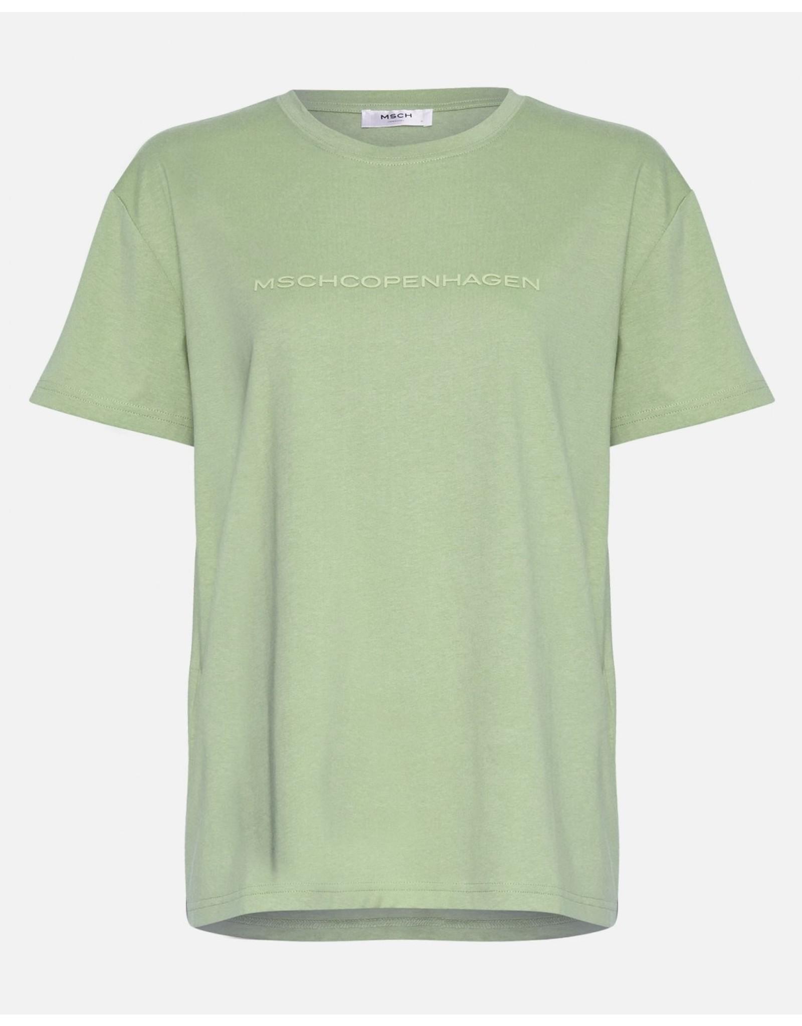 Moss Copenhagen - MSCH T-shirt - Liv - green