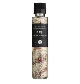 Lie Gourmet Zout - rozemarijn, paprika en chili