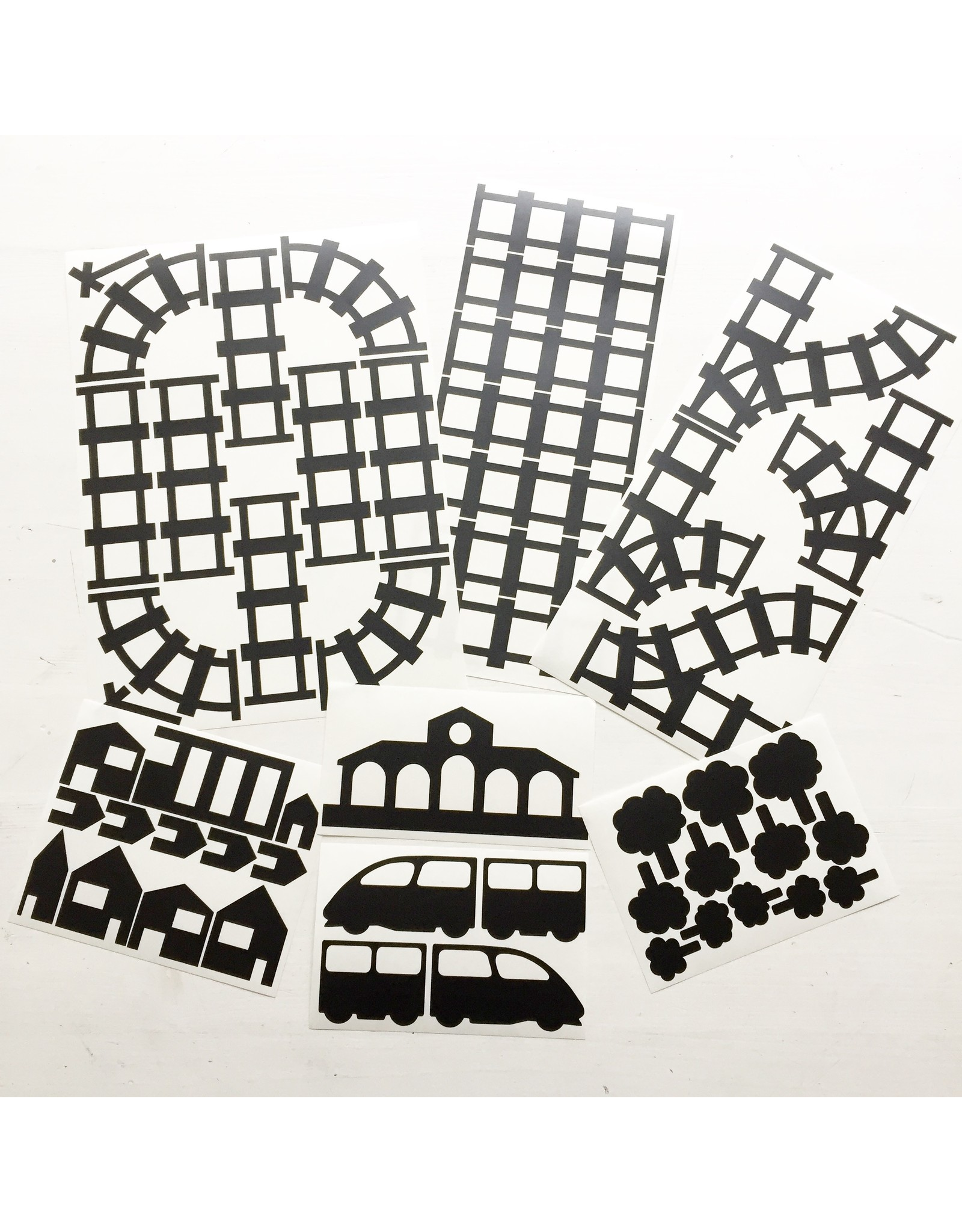 Studio Jong Sticky rails - voordeelset zwart