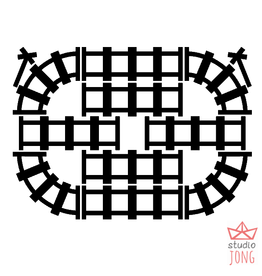 Studio Jong Sticky rails
