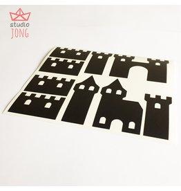Studio Jong Sticky kasteelmuren