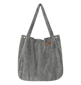 Your Wishes Mom Tote Bag - napped wool melange