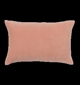 Urban Nature Culture Kussen - Vintage velvet - soft pink