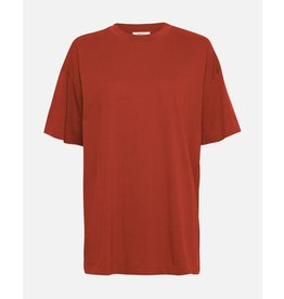 Moss Copenhagen - MSCH T-shirt - Ary tee - barn red