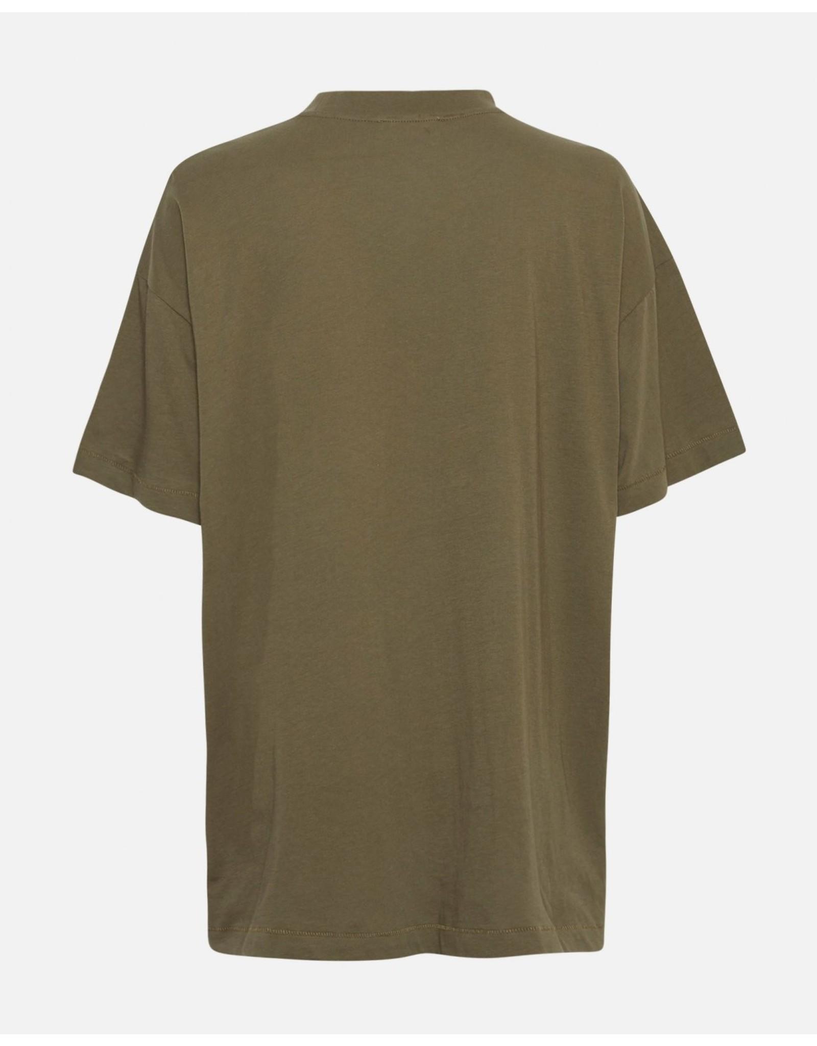 Moss Copenhagen - MSCH T-shirt - Ary tee - kalamata