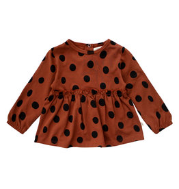 Your Wishes Dots | Pleated Top