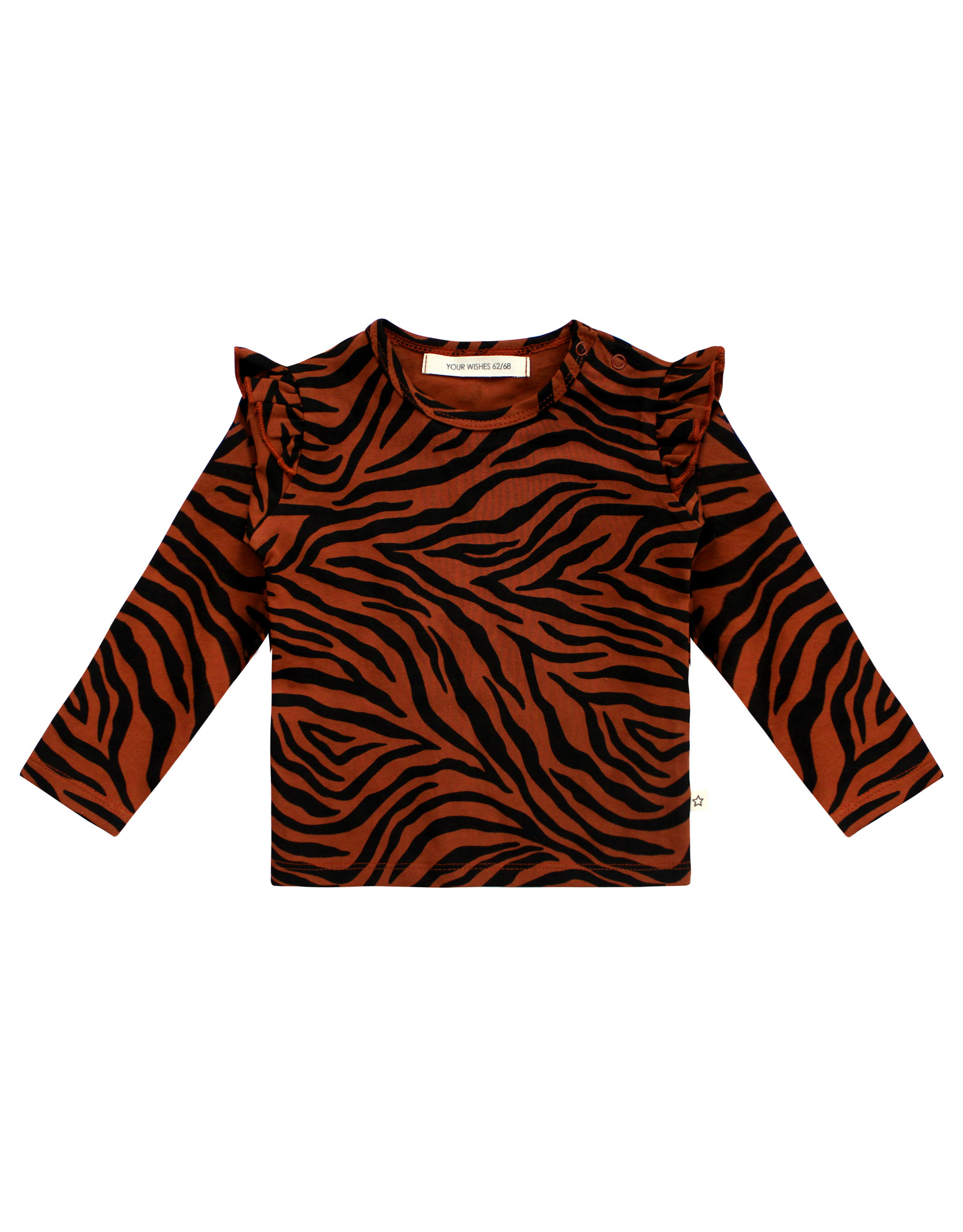 Your Wishes Zebra | Top Ruffle