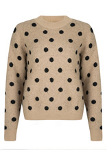 Ydence Sweater knitted - Aimee - beige