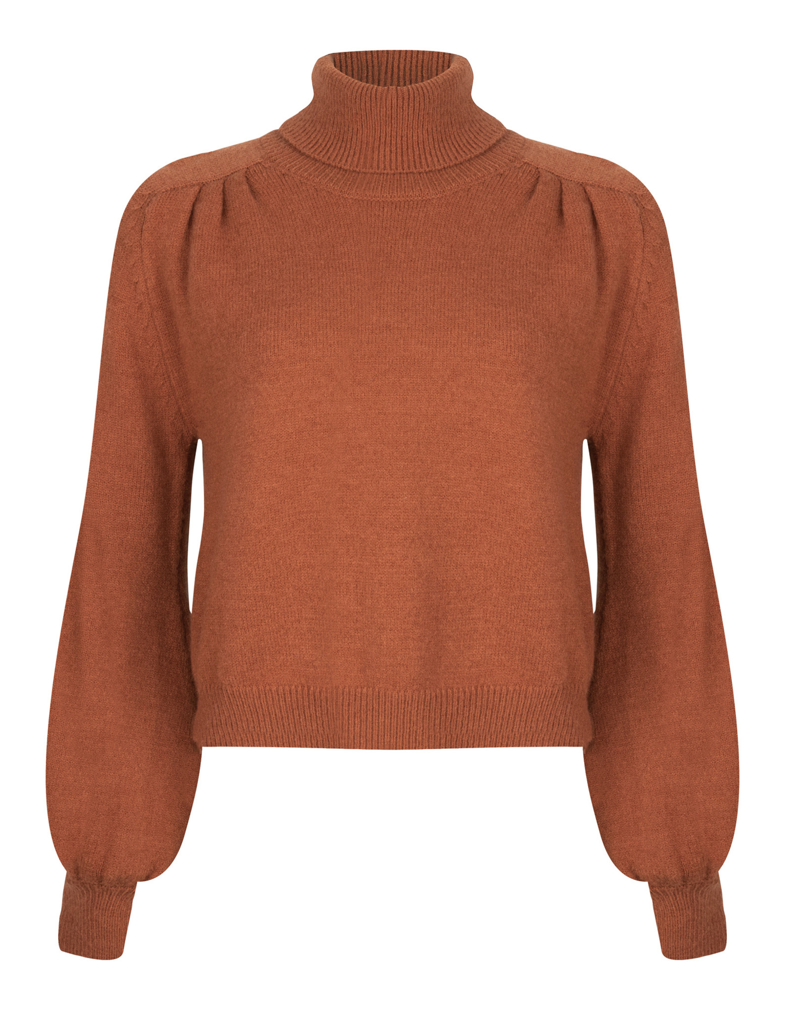 Ydence Sweater knitted - Pascalle - bruin