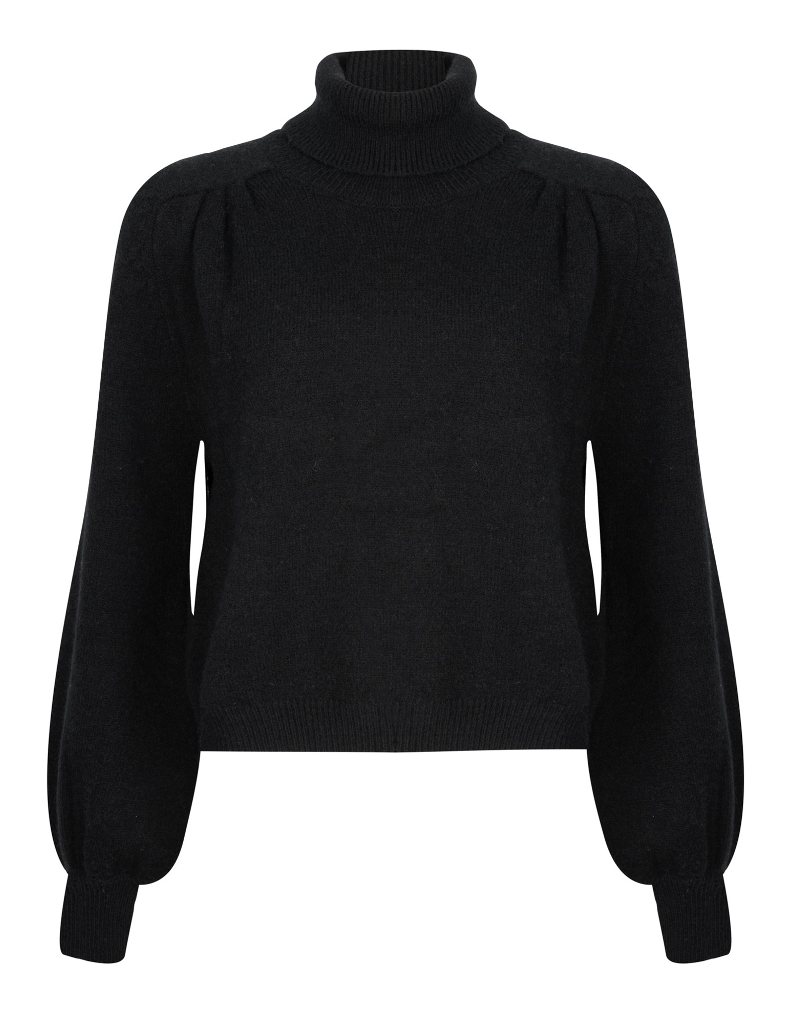 Ydence Sweater knitted - Pascalle - zwart