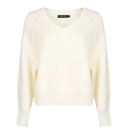 Ydence Sweater knitted - Nathalie - offwhite