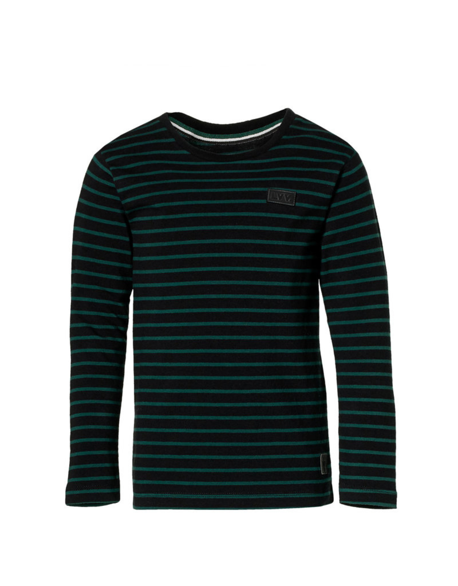 Levv T-shirt Lenn - zwart strepen