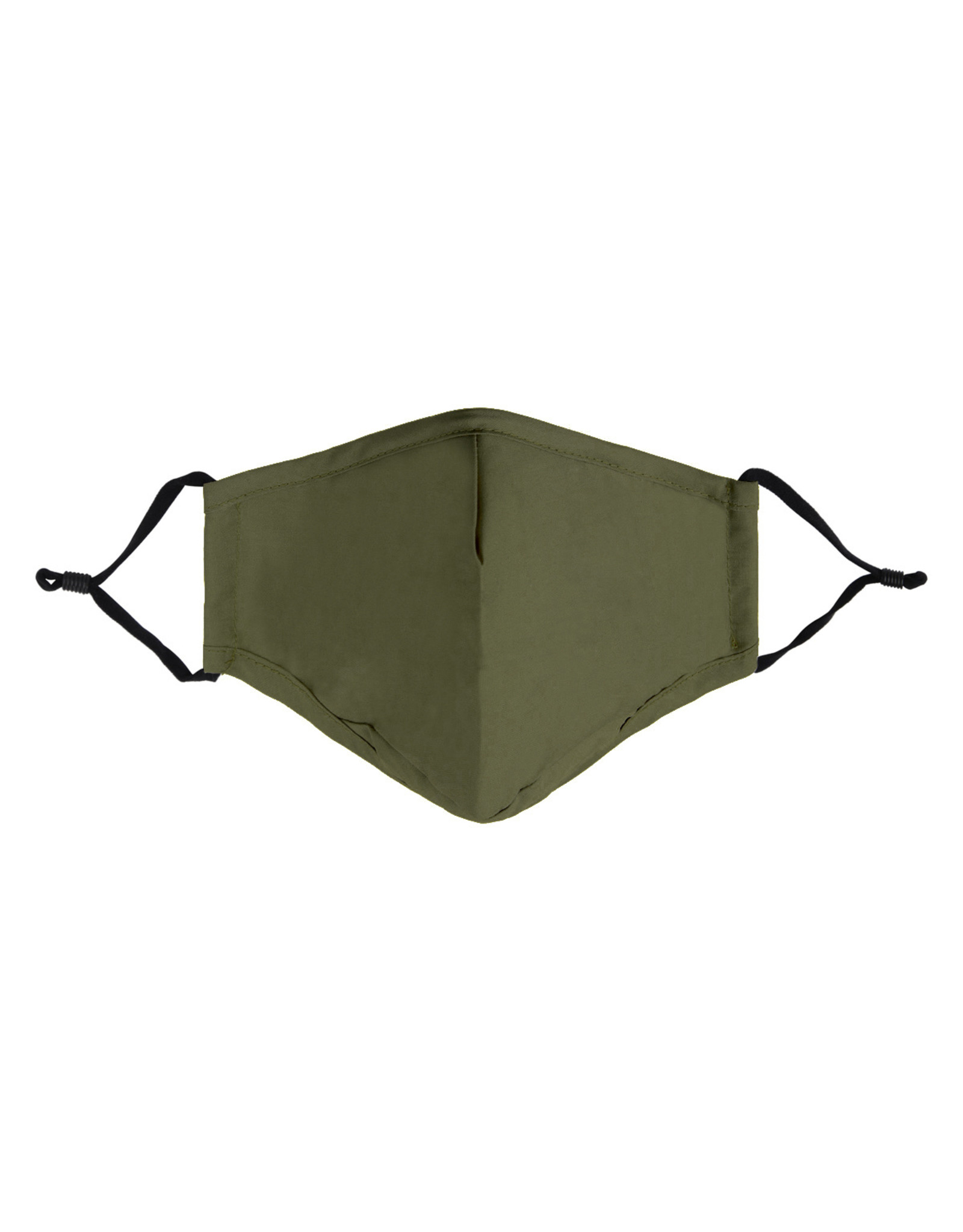 Mondkapje uni - army green