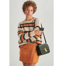 24colours Pullover bruin