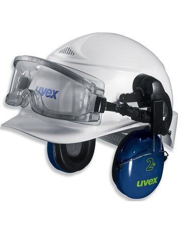 uvex uvex ultravision 9301-544 ruimzichtbril t.b.v. helmbevestiging