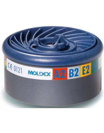 Moldex Moldex 980001 gas- en dampfilter A2B2E2K2