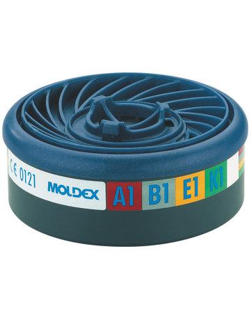 Moldex Moldex 940001 gas- en dampfilter A1B1E1K1